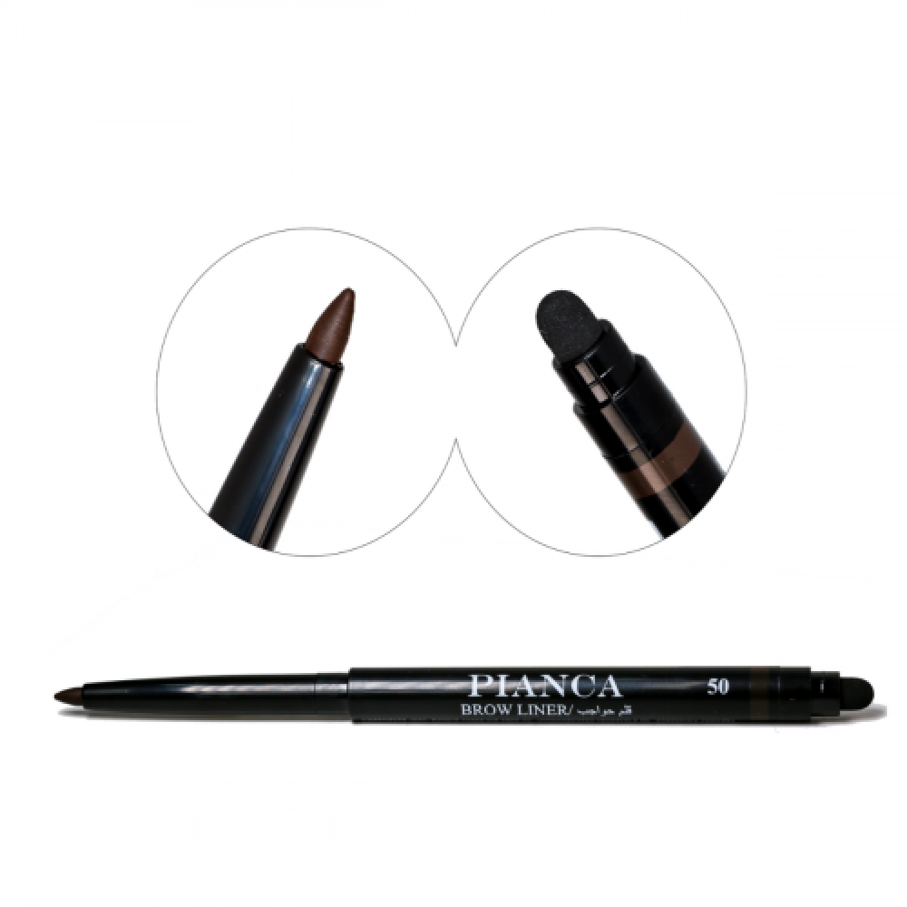PIANCA Brow Liner Pen With Sponge No-50