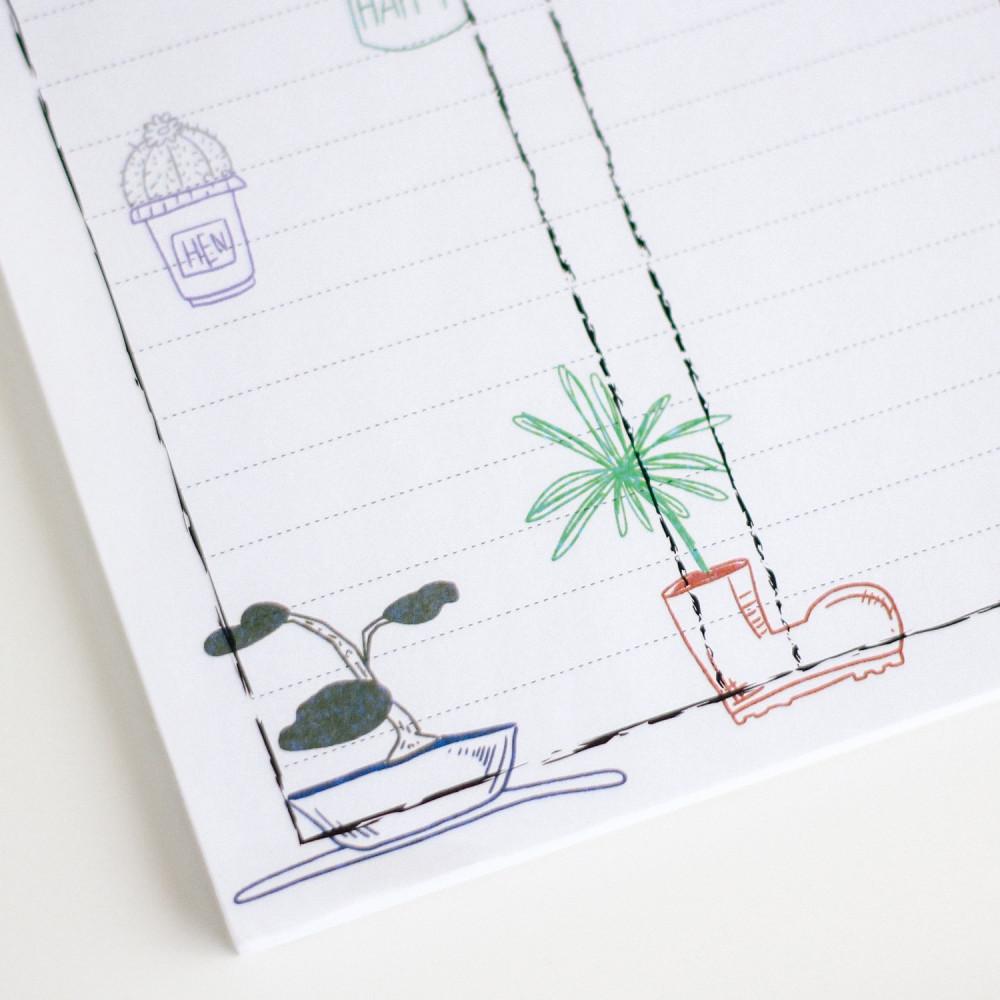 منظم مهام الشهر الجدول الشهري طرق تنظيم الوقت Check list ورق ملاحظات