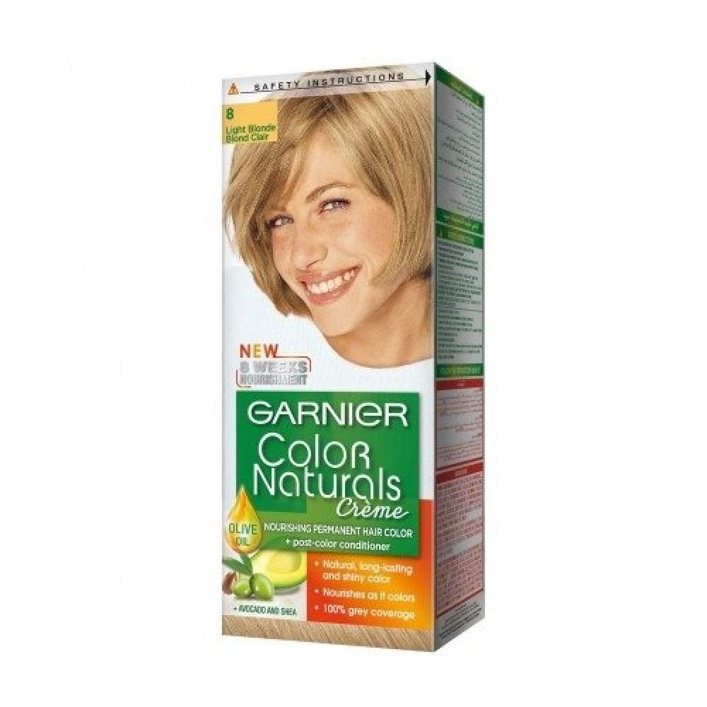 Garnier Color Naturals No-8 Light Blonde متجر خبير العطور
