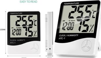 جهاز قياس درجة الحرارة والرطوبة 19 ريال فقط