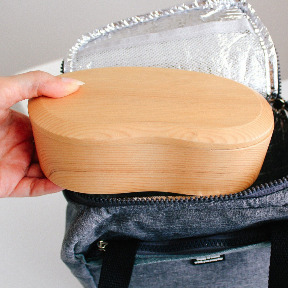 لانش بوكس بينتو صندوق بنتو خشب فاتح صندوق سوشي ياباني حافظة طعام متجر