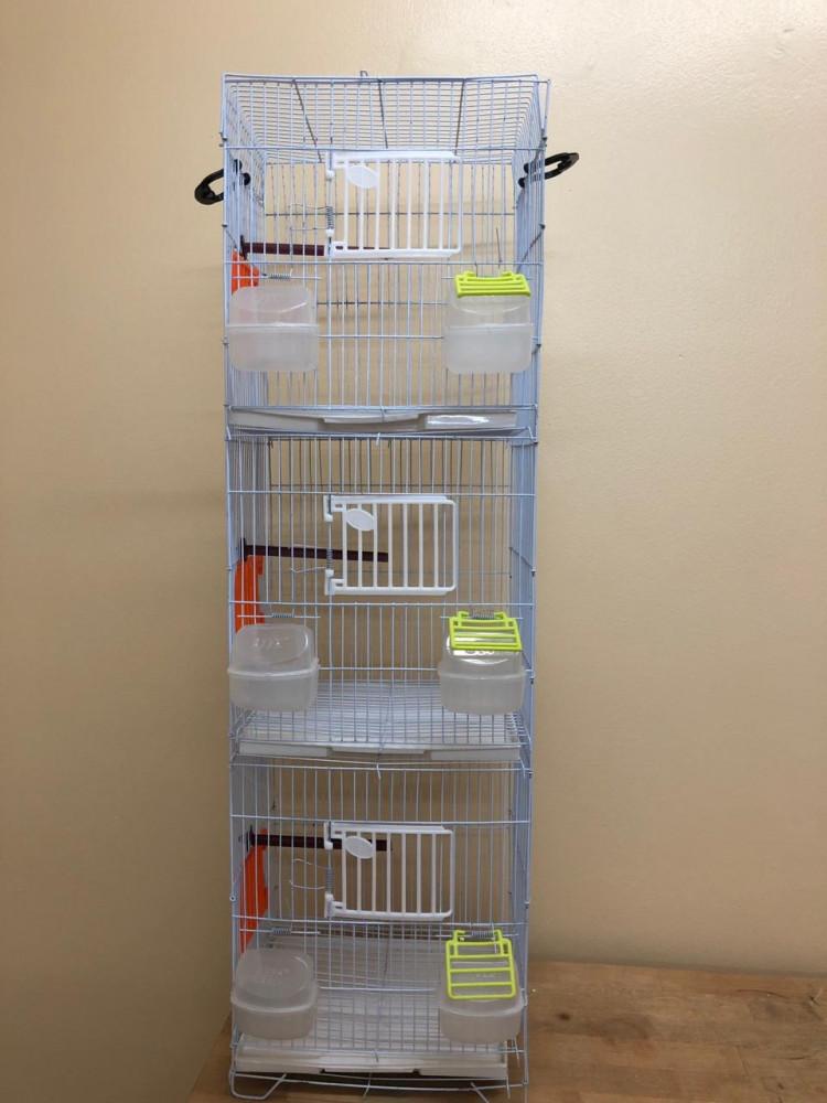 قفص 3 أدوار-عون المربي لمستلزمات الطيور والفقاسات والنتافات والحاضنات