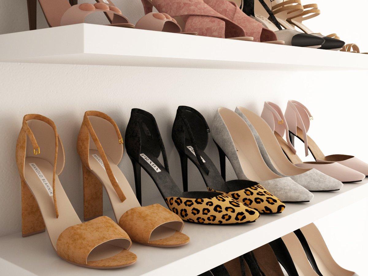 الأحذية النسائية