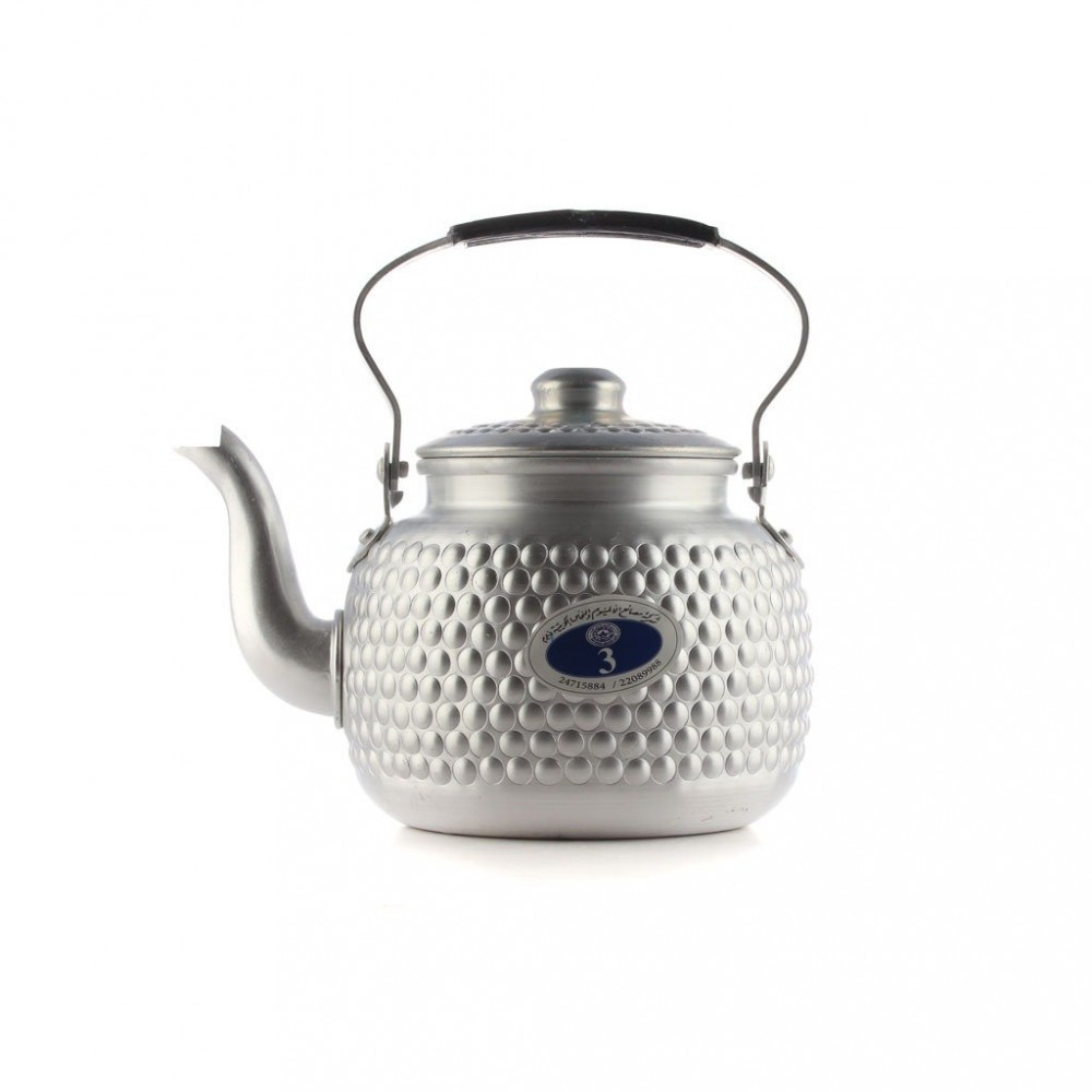 ابريق شاي منقوش مقاس 3 كابي