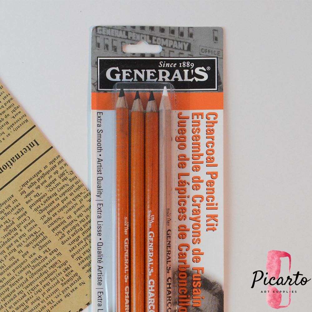 جينيرالز - طقم الفحم الأساسي - بيكارتو