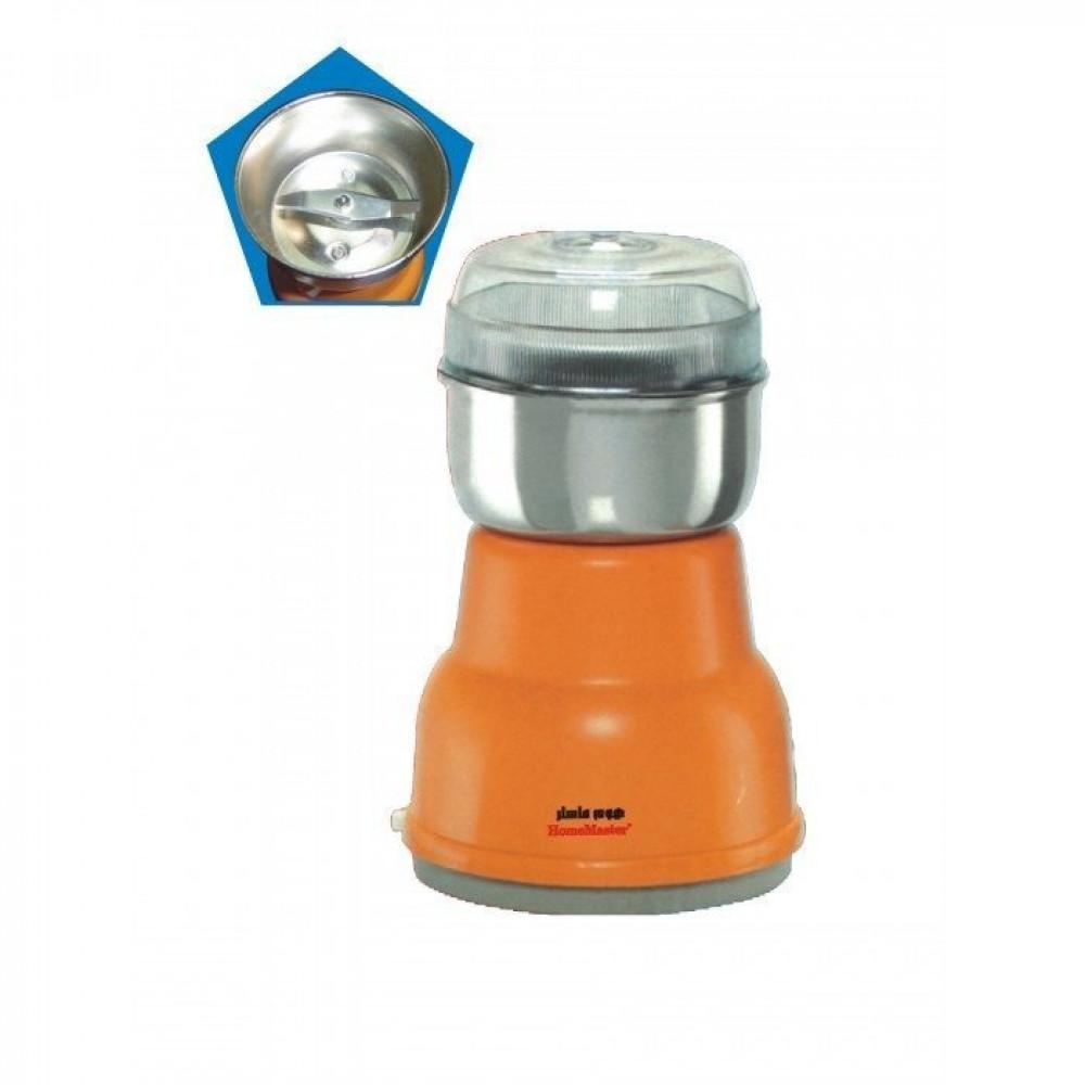 مطحنة قهوة - مطحنة قهوة كهربائية من الستانلس ستيل هوم ماستر HM-836