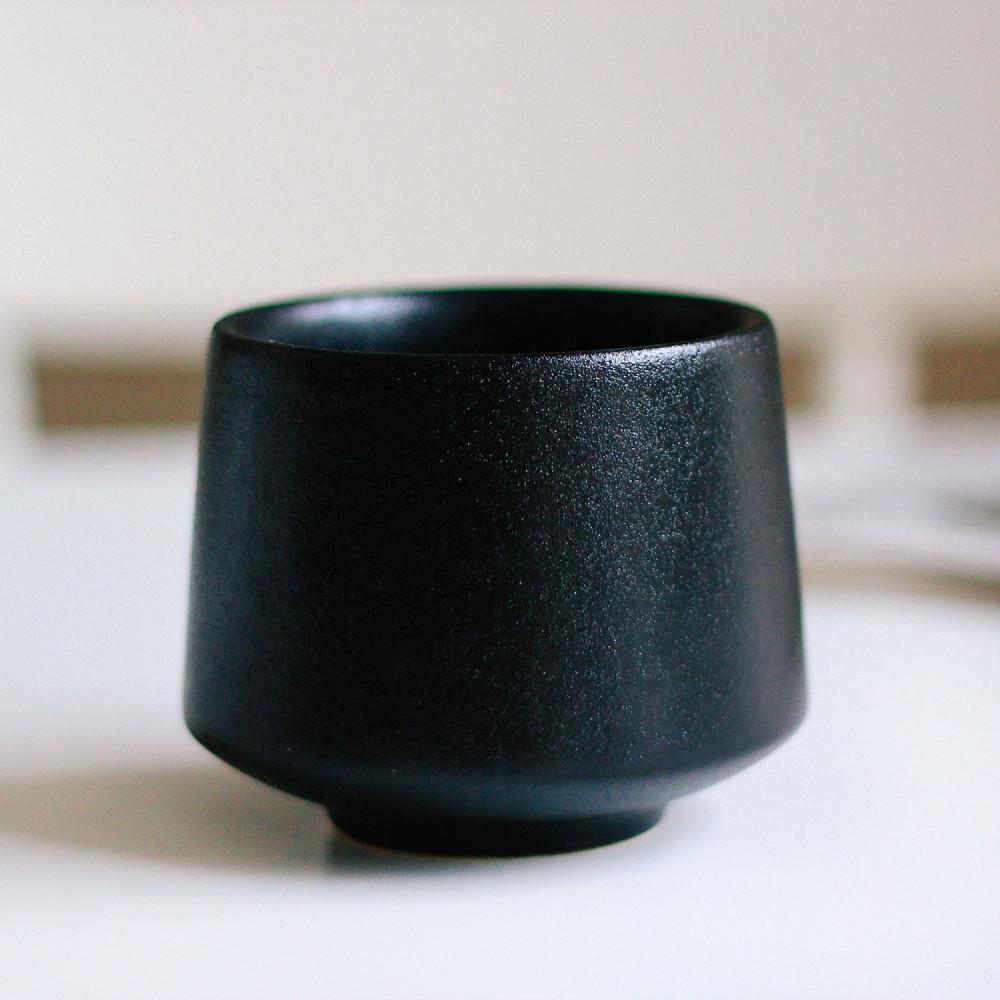 كوب قهوة كوب حجري شغل يدوي أدوات القهوة المختصة فلات وايت كوب كورتادو