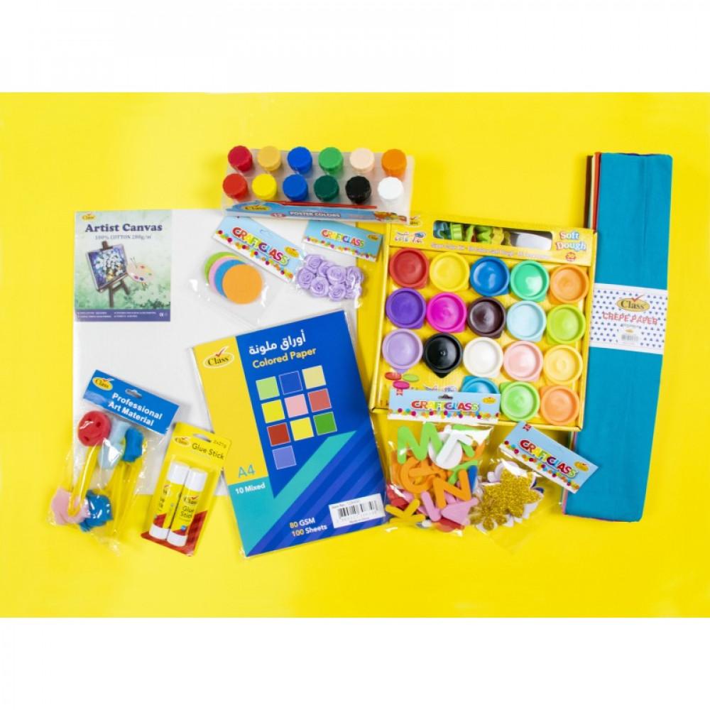 إبداع الطفل, أدوات فنية, Class, Crafts