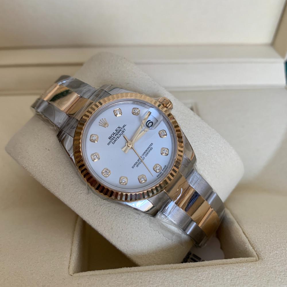ساعة رولكس ديت جست الأصلية الفاخرة جديدة 178273