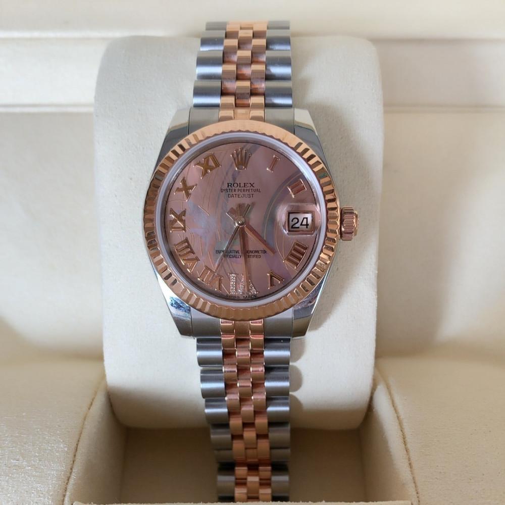 ساعة رولكس ديت جست الأصلية الفاخرة مستعملة 178271