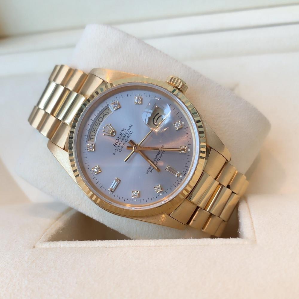 ساعة رولكس داي ديت الأصلية الثمينة