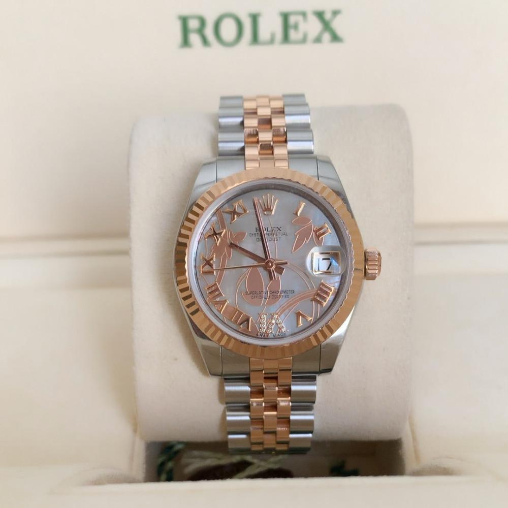 ساعة رولكس ديت جست الأصلية الفاخرة مستخدمة 178271