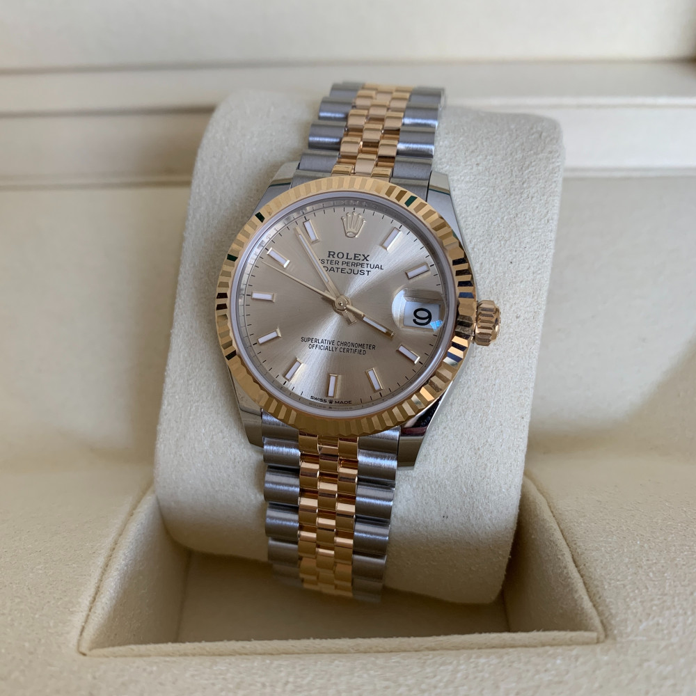 ساعة رولكس ديت جست الأصلية الفاخرة جديدة تماما 278273