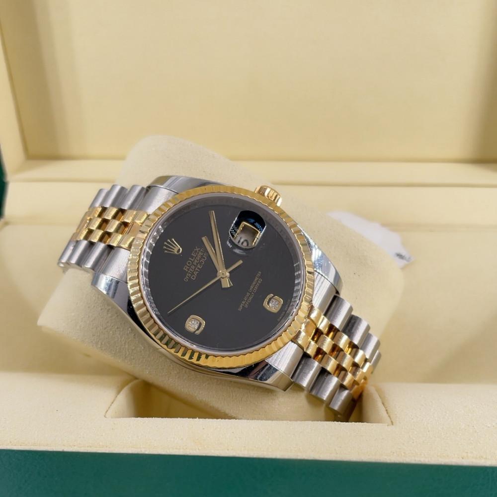 ساعة رولكس ديت جست الأصلية الثمينة مستعملة 116233