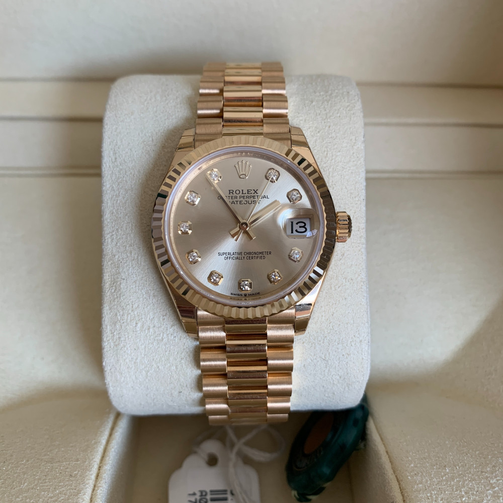 ساعة رولكس ديت جست بريزيدنت الأصلية الثمينة 278278