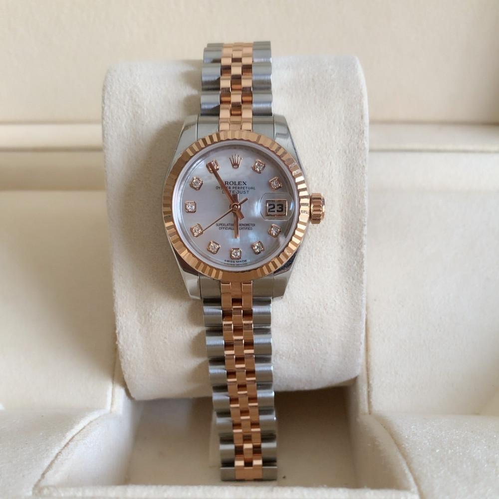 ساعة رولكس ديت جست الأصلية الفاخرة مستخدمة 179171