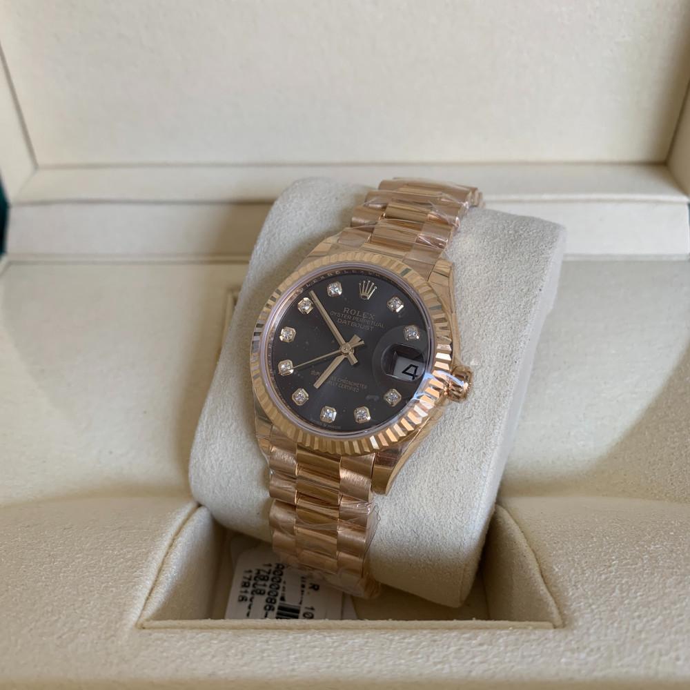 ساعة رولكس ديت جست بريزيدنت الأصلية الفاخرة 278278