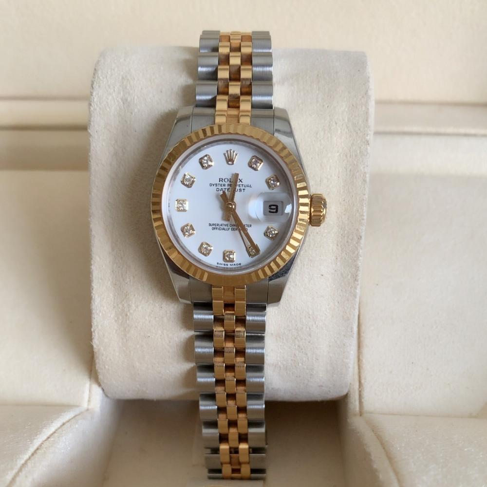 ساعة رولكس ديت جست الأصلية الفاخرة مستعمل 179173