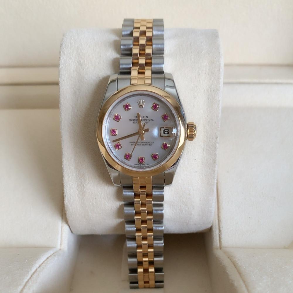 ساعة رولكس ديت جست الأصلية الفاخرة مستخدمة 179173