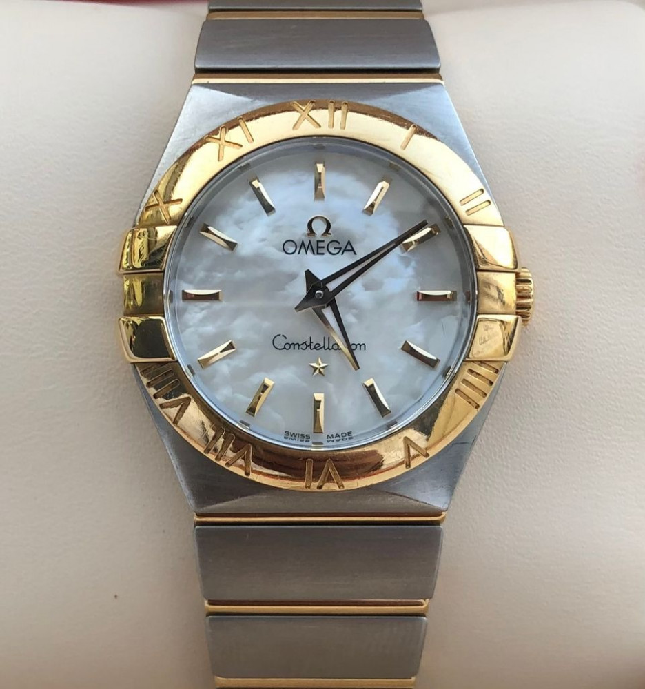 ساعة اوميغا كونستليشن الأصلية الثمينة مستخدمة