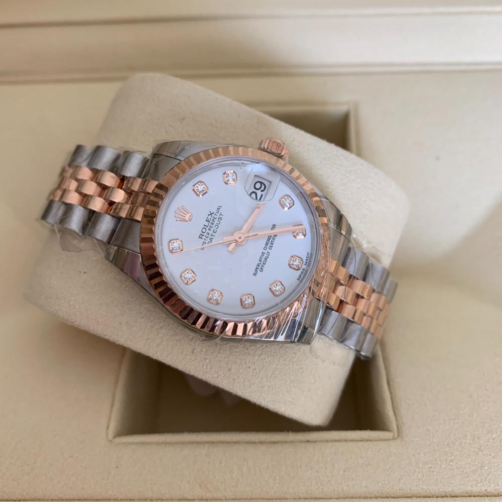 ساعة رولكس ديت جست الأصلية الثمينة جديدة تماما 278271