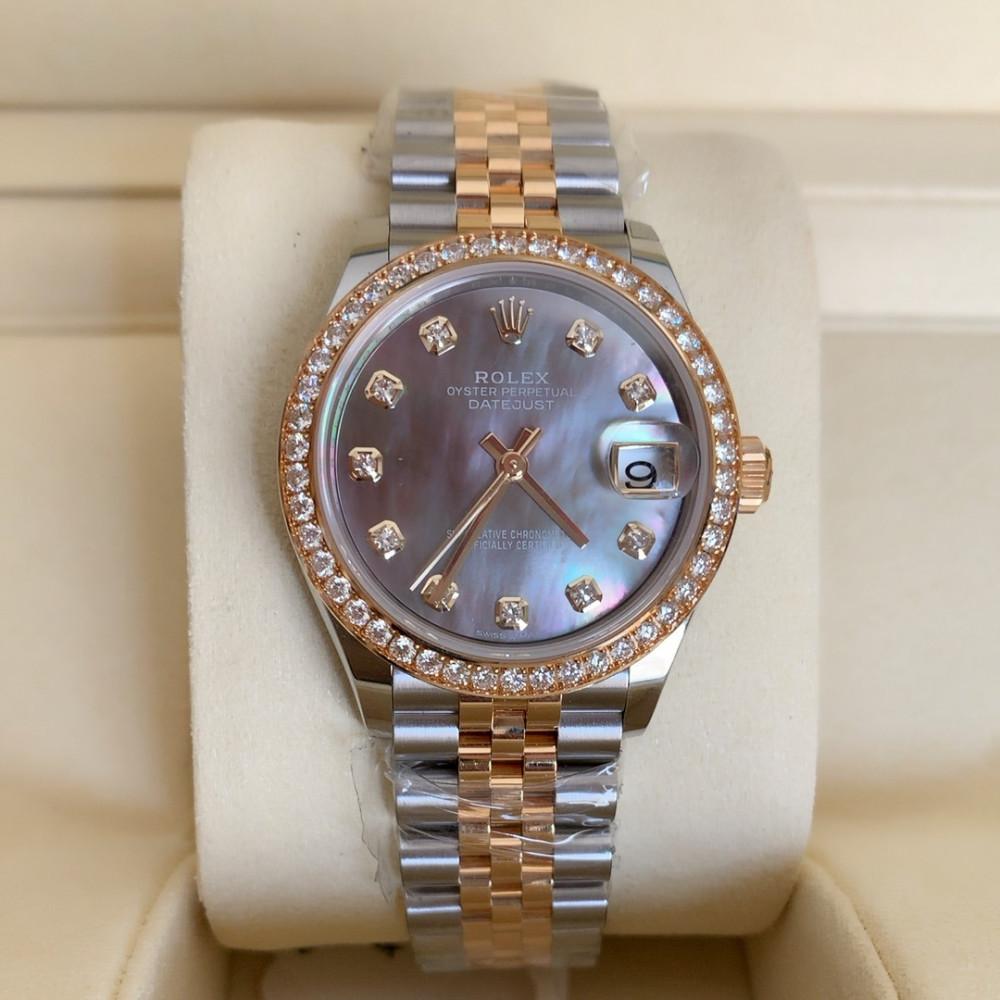 ساعة رولكس ديت جست الأصلية الفاخرة جديدة 278383