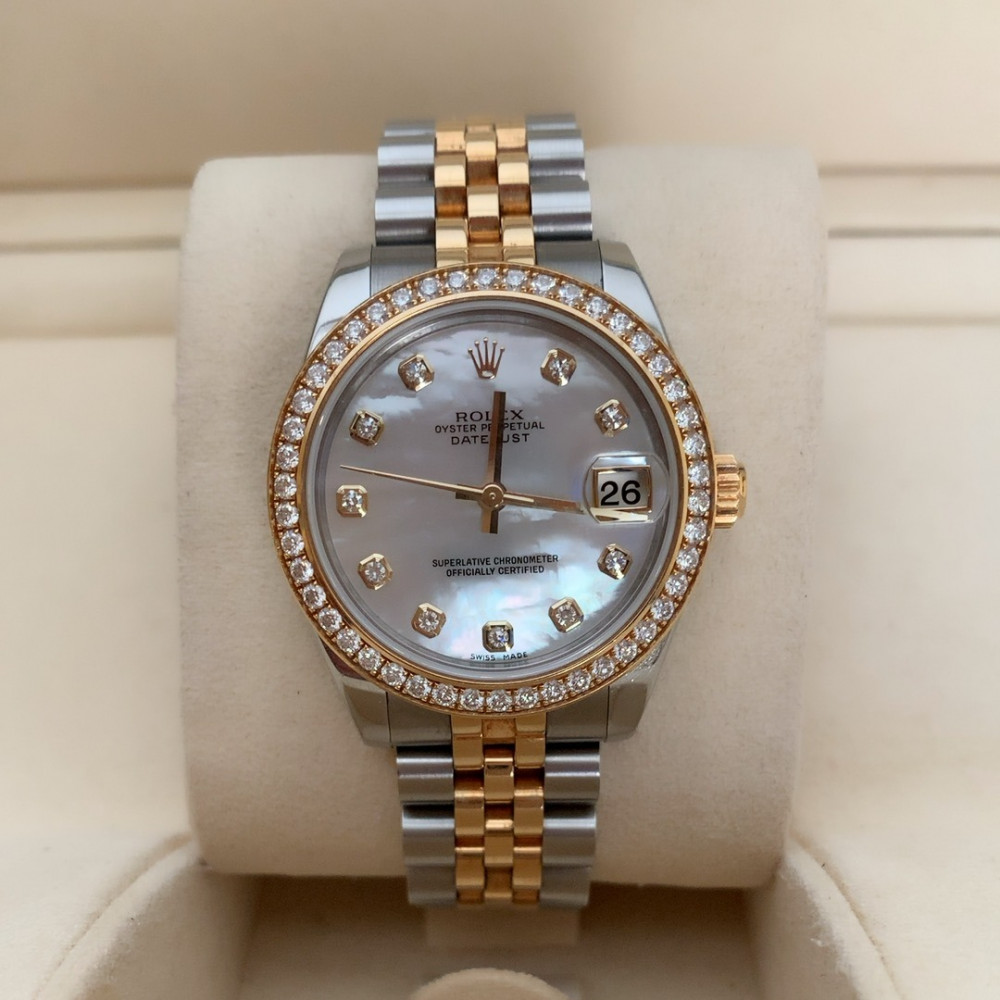 ساعة رولكس ديت جست الأصلية الفاخرة مستخدمة 178383