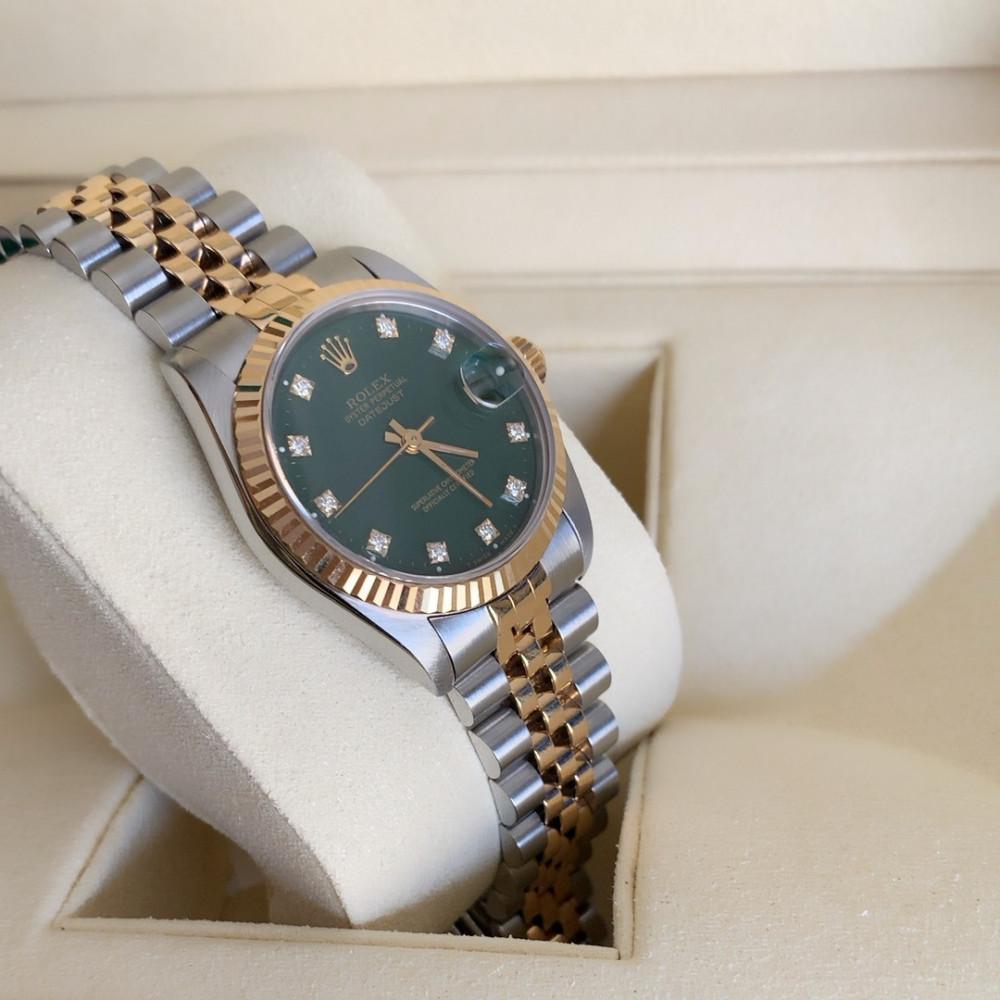 ساعة رولكس ديت جست الأصلية الفاخرة مستعملة 68273