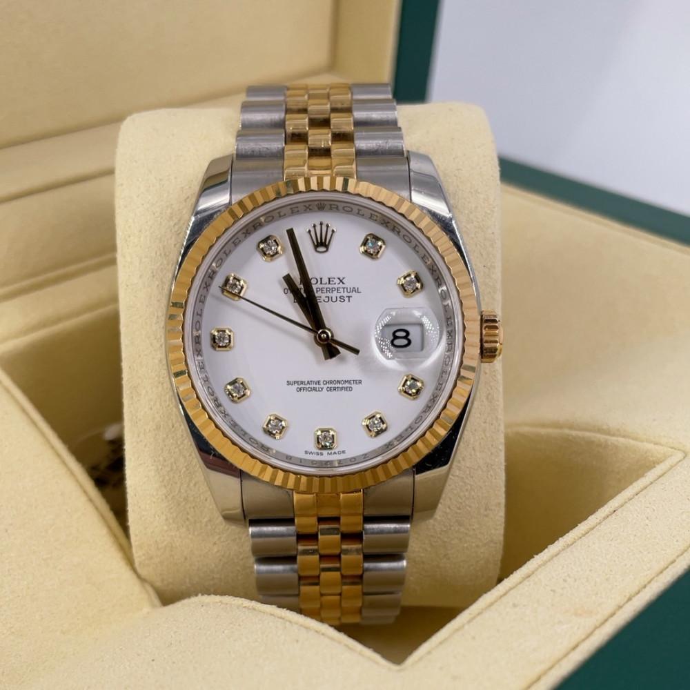 ساعة Rolex ديت جست الأصلية الفاخرة مستعملة 116233