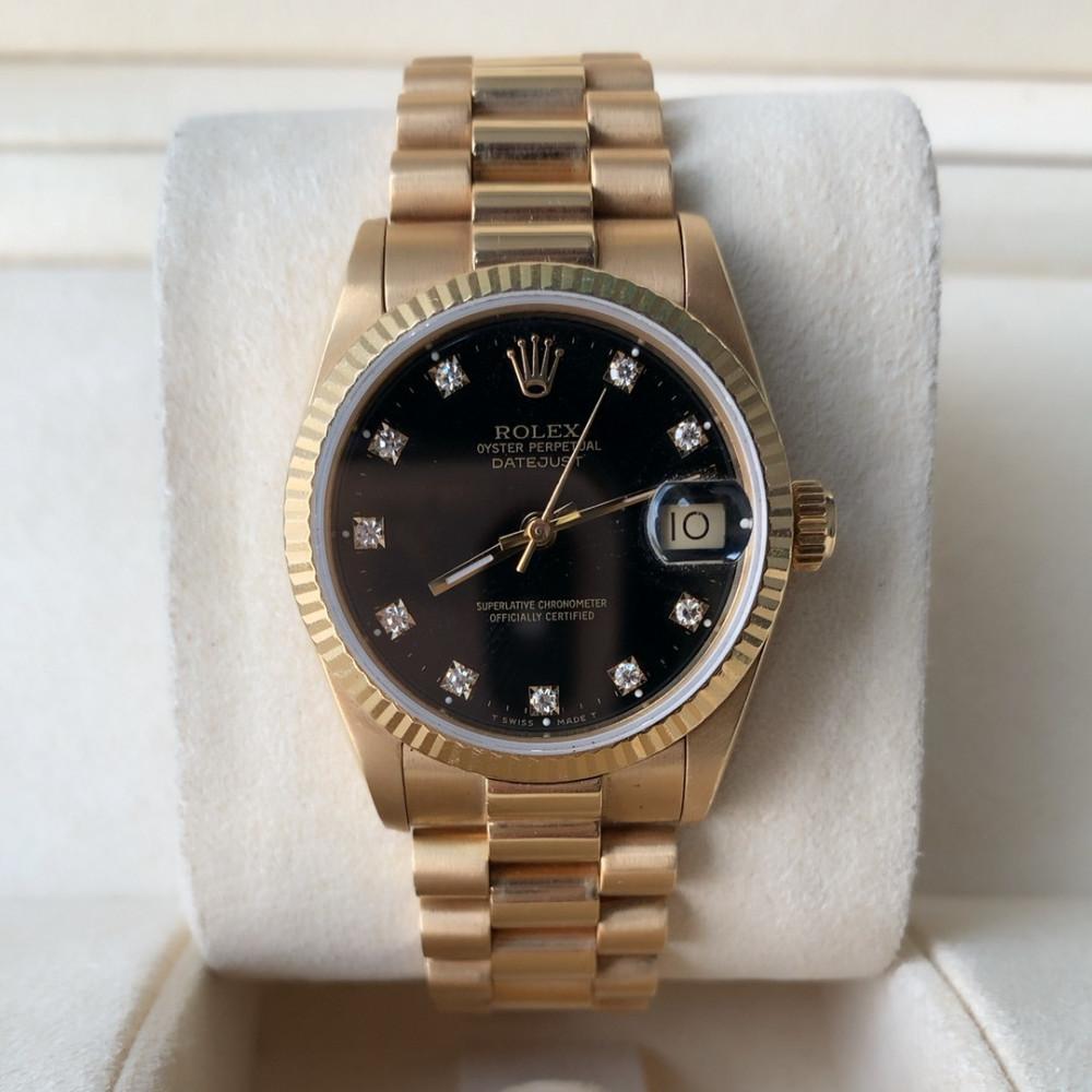 ساعة رولكس ديت جست الأصلية الفاخرة مستعملة