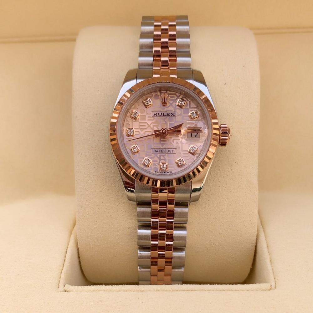 ساعة رولكس ديت جست الأصلية الفاخرة مستعملة 179171