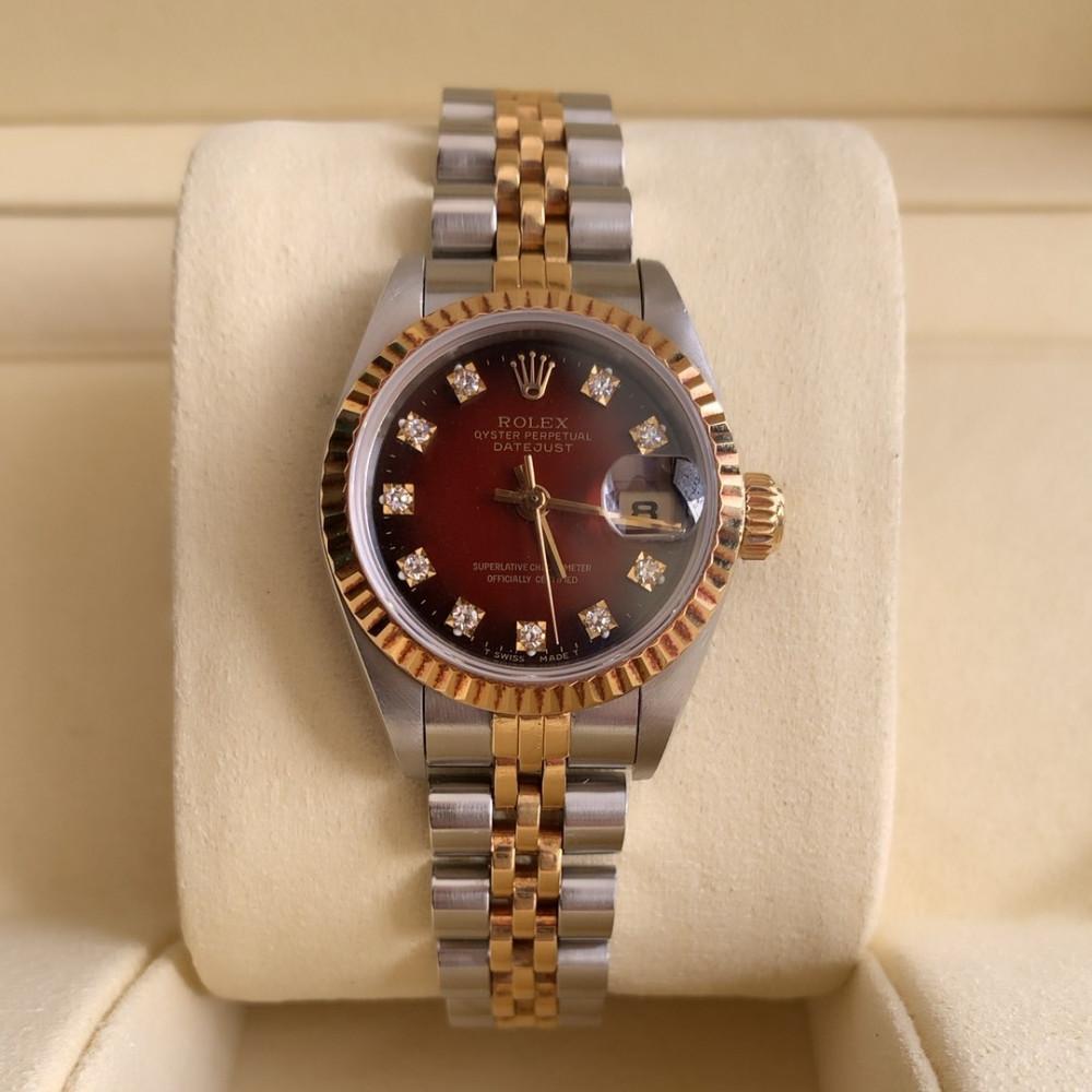 ساعة رولكس ديت جست الأصلية الفاخرة مستعملة 69173