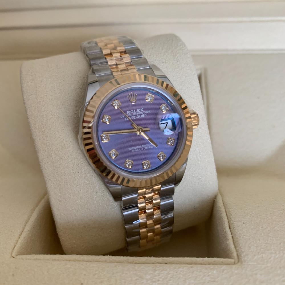 ساعة رولكس ديت جست الأصلية الفاخرة جديدة تماما 279173