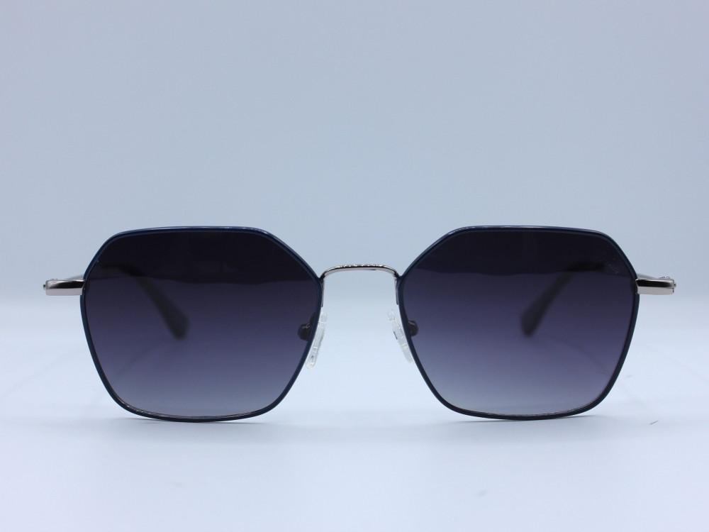 نظاره شمسية سداسية من ماركة VARIETY  لون العدسة اسود مدرج رجالية 2021