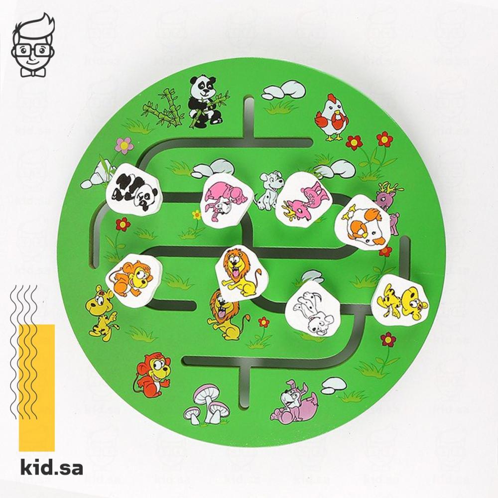 لعبة توصيل خشبية للاطفال