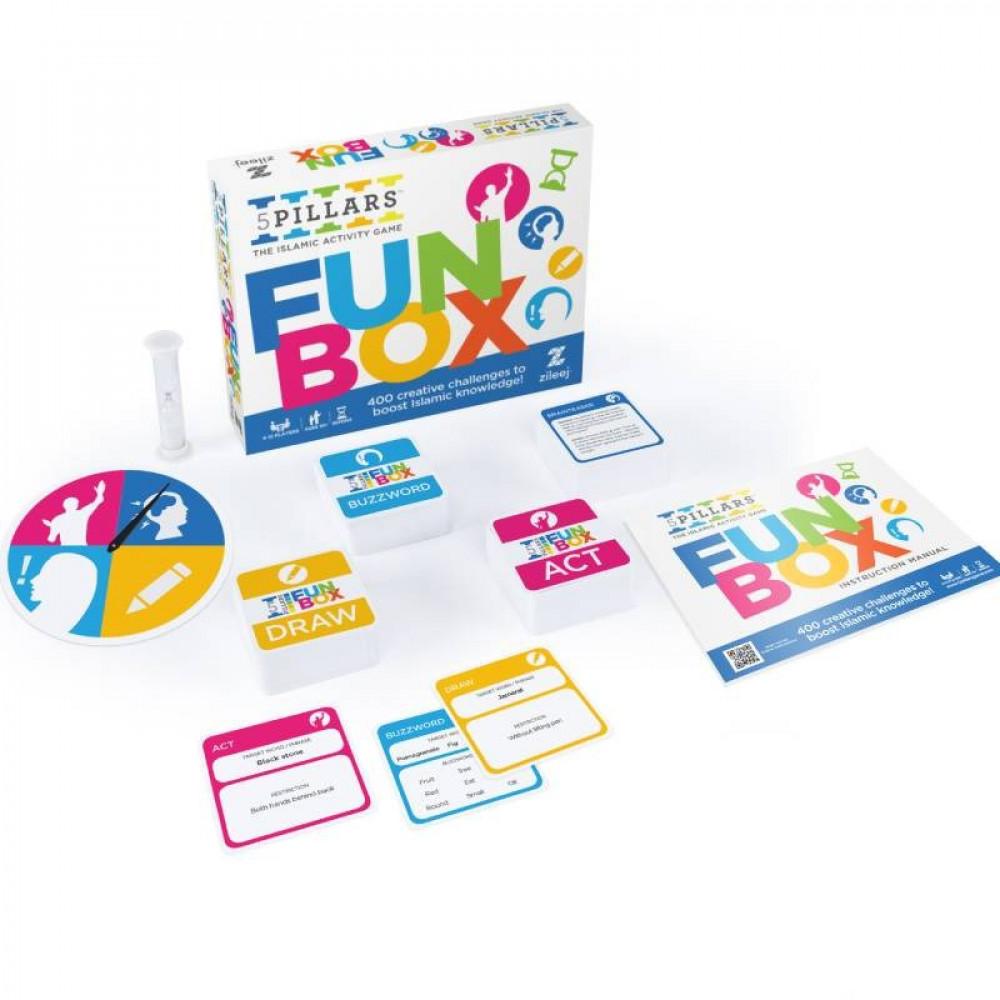 لعبة الأركان الخمسة التنافسية لصندوق المرح, Game, 5 PILLARS