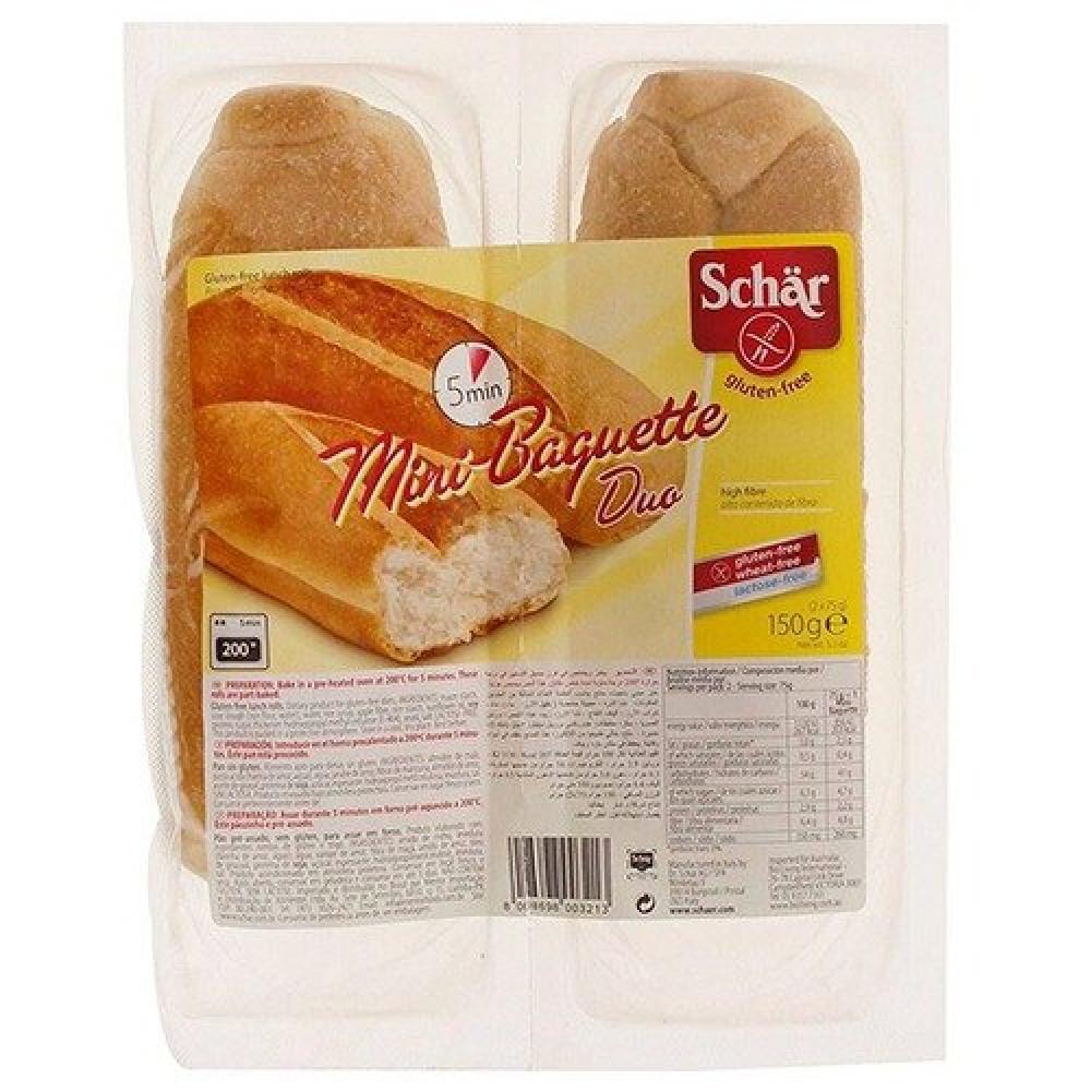 خبز ميني باجيت خالي من الجلوتين 150 جرام