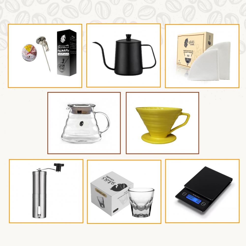 أدوات قهوة