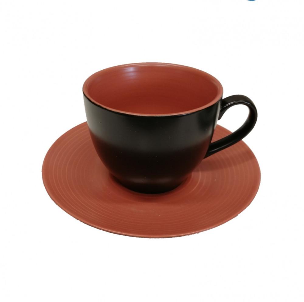 اكواب قهوة بني