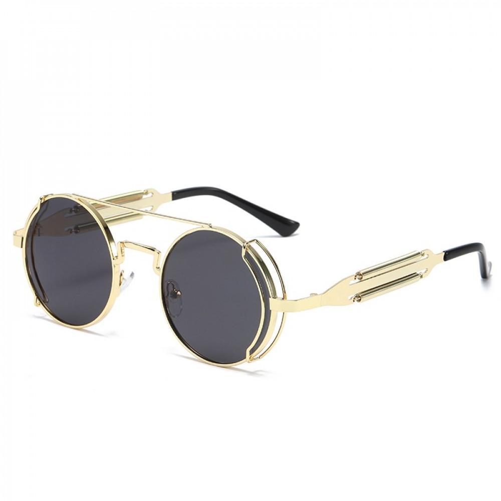 نظارة شمسية بعدسة دائرية