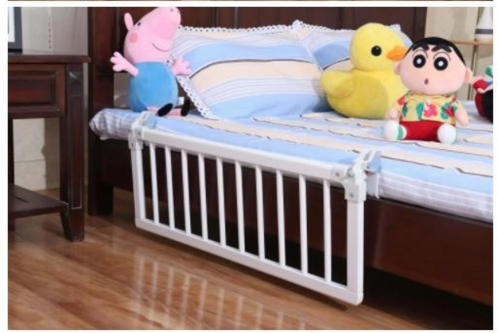 حاجز سرير اطفال خشب