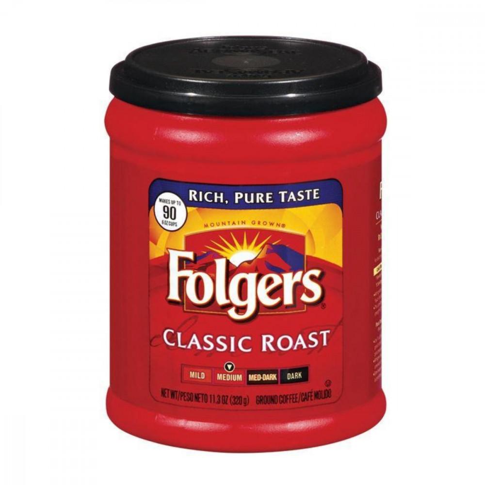 قهوة فولجرز كلاسيك روست مطحونة folgers classic roast