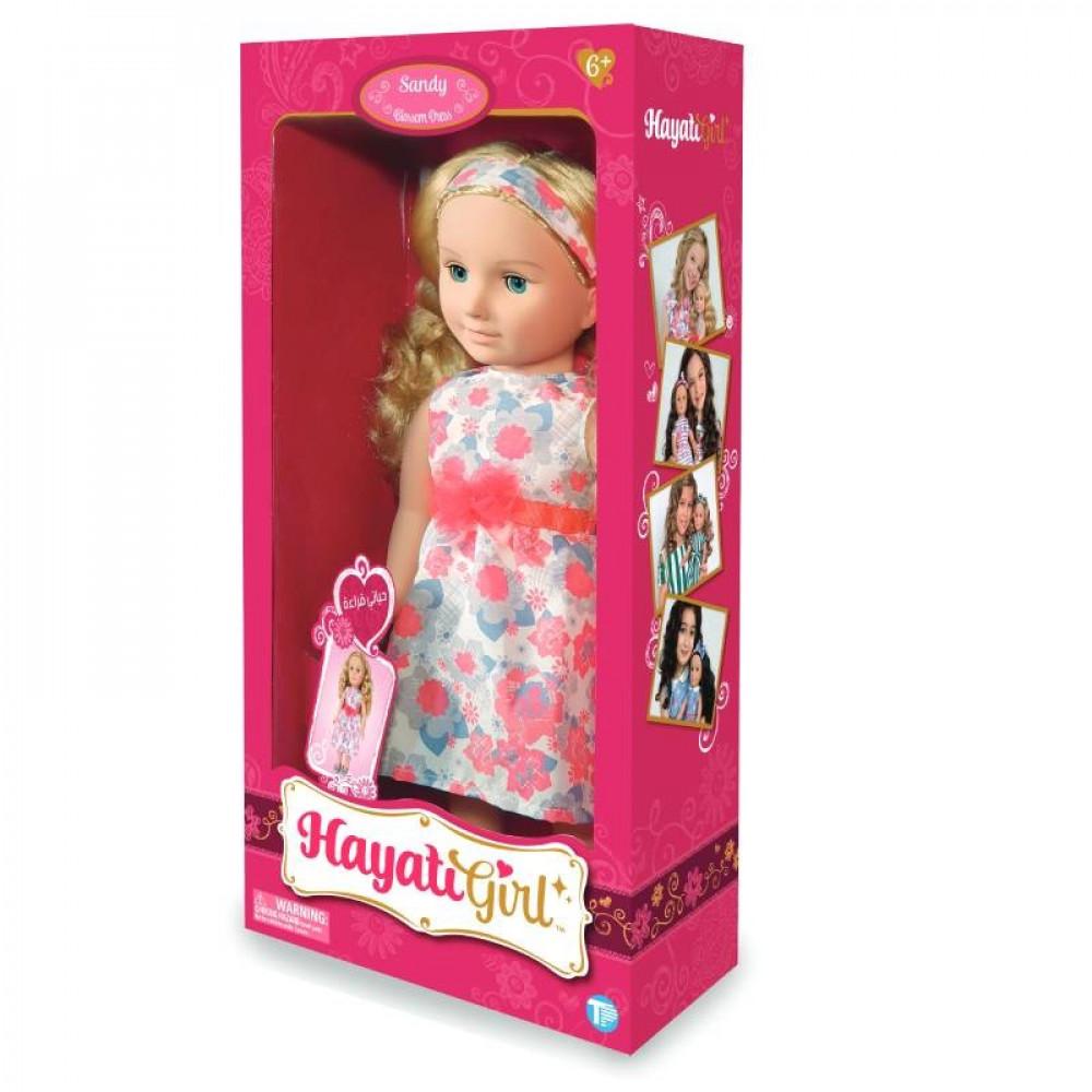 حياتي جيرل, عروسة ساندي, فستان الورود, دمية, ألعاب, Doll, Toys