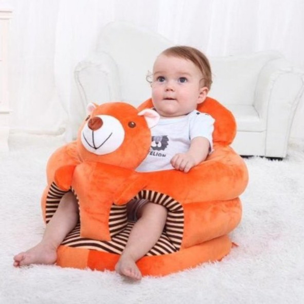 مقعد لتعليم ومساعدة الطفل على الجلوس babydoll-orange