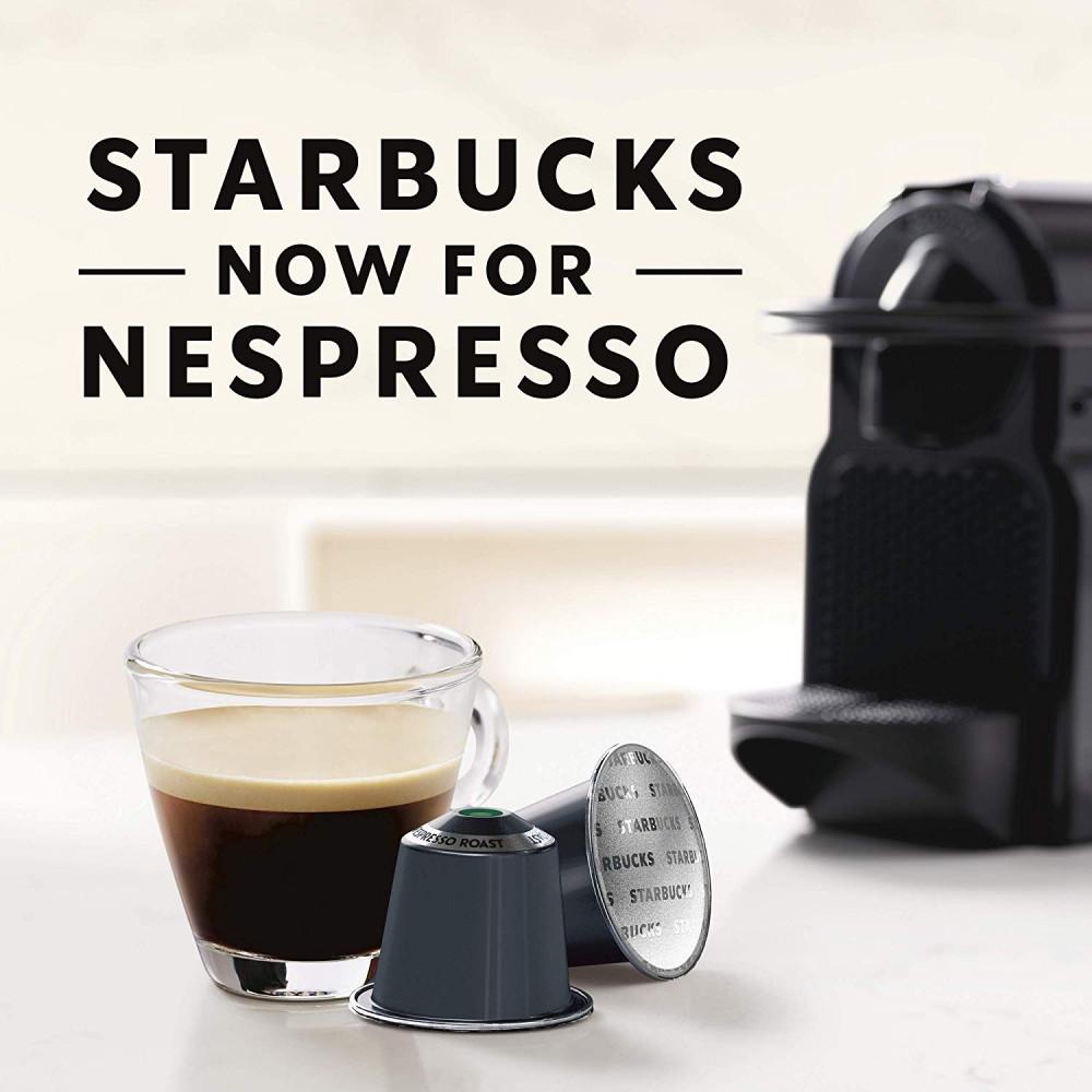 اسبريسو روست قهوة ستاربكس كبسولات نسبريسو الأصلية Nespresso