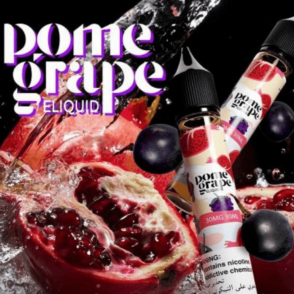 نكهة بوم جريب رمان عنب سولت - Pome Grape - Salt Nicotine