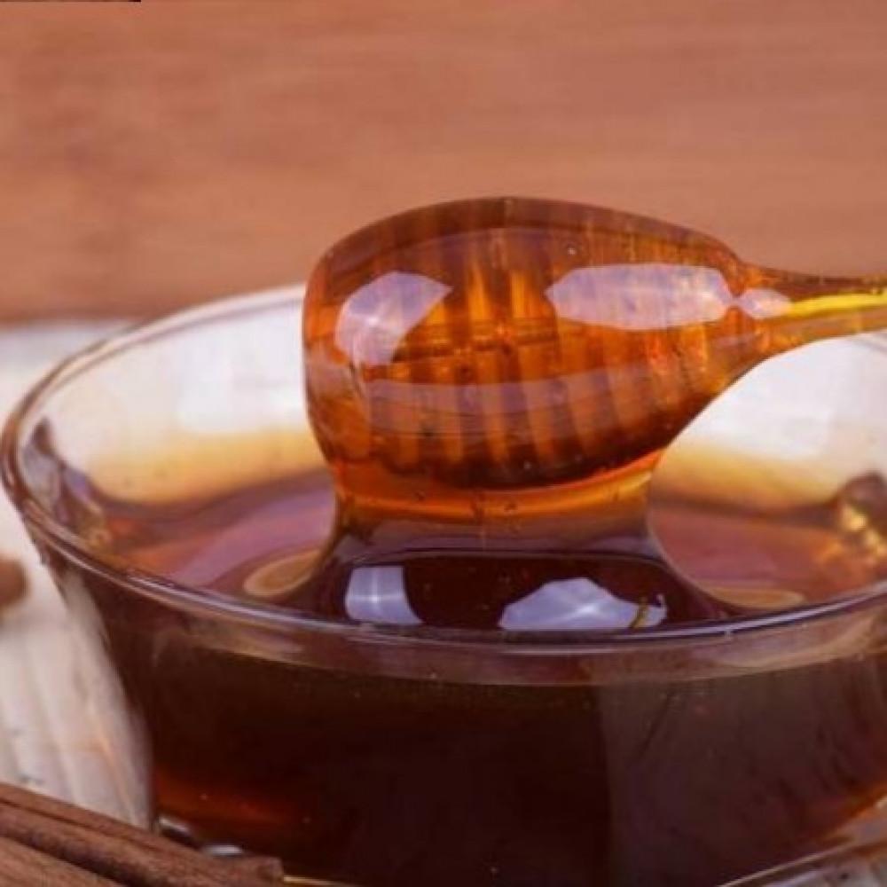 عسل سمرة يمنية متبلورة أصلي من شهد النحل