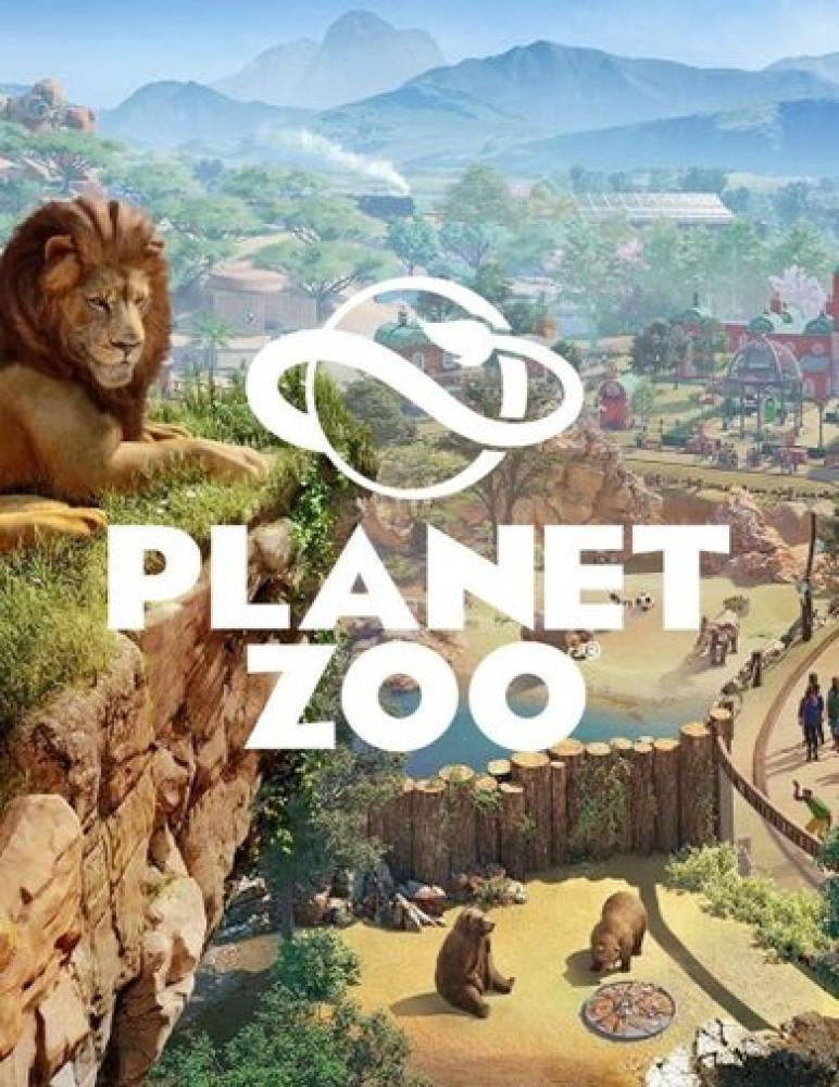 لعبة PLANET ZOO على الكمبيوتر للستيم Steam حيوانات ورعاية وبناء قرى