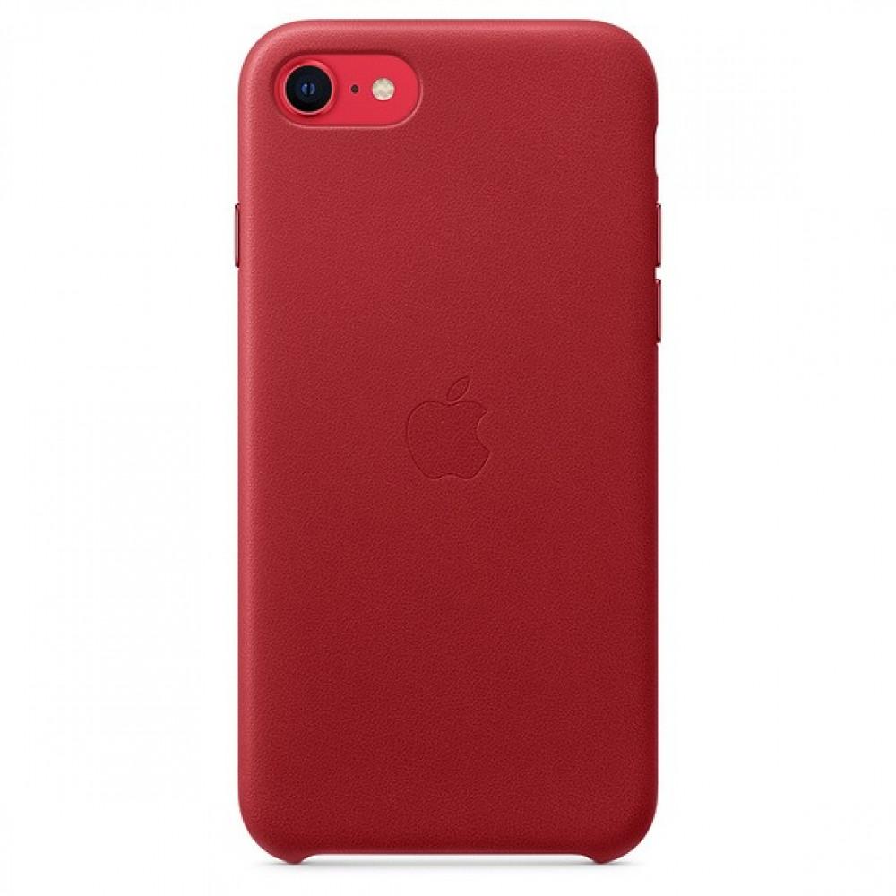 كفر ايفون 7 جلد احمر