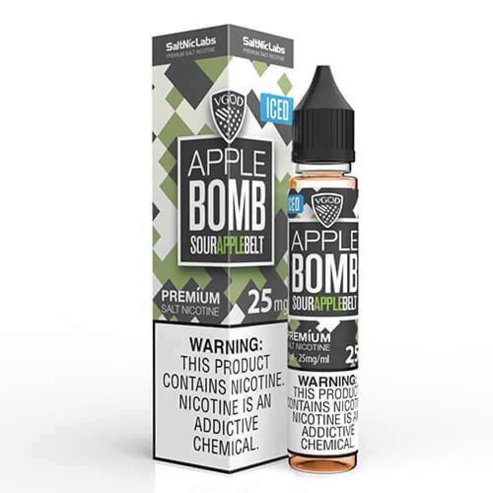 نكهة فيقود تفاخ اخضر ايس سولت نيكوتين - VGOD Apple Bomb ICED - Salt Ni